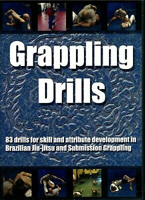 GRAPPLING DRILLS STEPHAN KESTING DVD Training Set Jiu Jitsu BJJ MMA B354