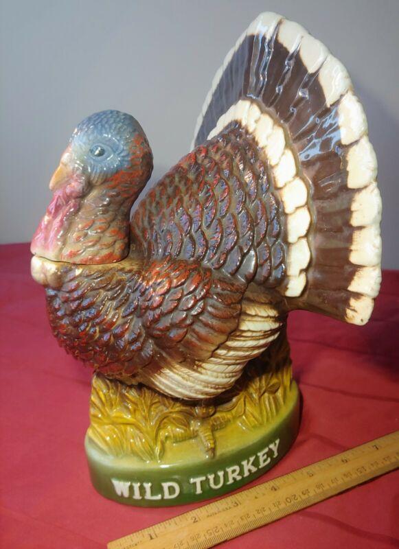 Vintage 1978 Austin Nichols Wild Turkey Limited Edition No.8  Decanter NEW CORK