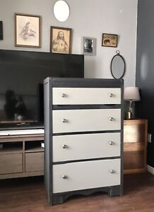 Antique Waterfall Dresser - Must See
