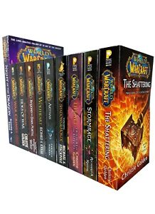 World of warcraft series Jaina Proudmoore Thrall Arthas10 Books Collection Set