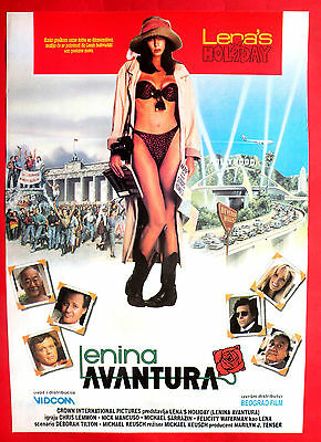 LENA'S HOLIDAY 1991 SEXY FELICITY WATERMAN CHRIS LEMMON KEUSCH EXYU MOVIE POSTER