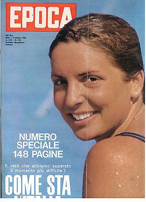 EPOCA N. 732 4 OTTOBRE 1964 OLIMPIADI TOKYO PAOLA SAINI NUOTO SITUAZIONE ITALIA