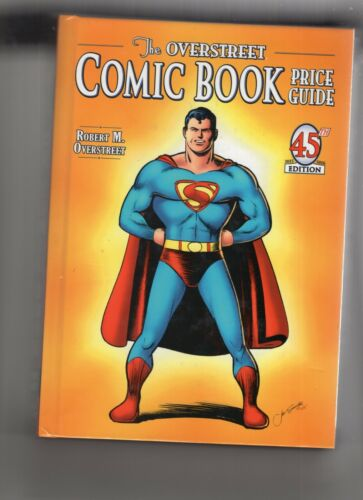 Overstreet Comic Book Price Guides #45-47 Hardcover VF