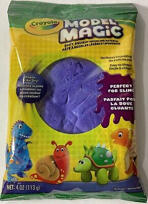 Crayola Crayola Model Magic (Crayola Model Magic-Purple 4 oz.  Perfect For Slime.)