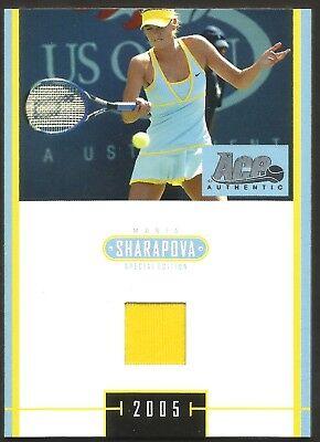 2005 Ace Authentic Signature Series #4 Maria Sharapova Rookie Tennis Card