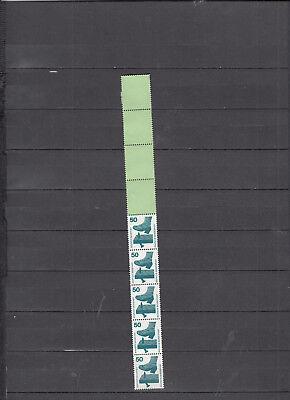 BRD Nr. 700 Rollenende 5x4 grün  **