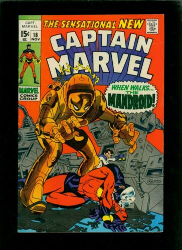 Captain Marvel 16 FN 6.0