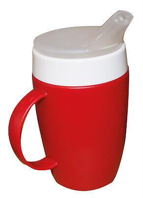 Thermobecher-Set, rot für Brei und Tee  - Tasse Schnabeltasse