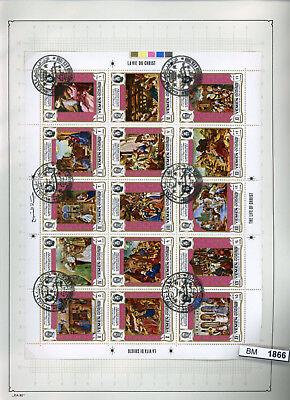 BM1866, xx, x, o, Arabische Staaten, > 1500 Motivmarken, KLB, Sätze, Blöcke, ZDs