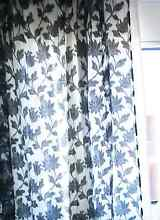 2 tall curtains.one white and one black in excellent conditions Padstow Bankstown Area Preview