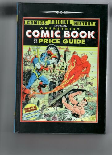 Overstreet Comic Book Price Guides #39-41 Hardcover VF