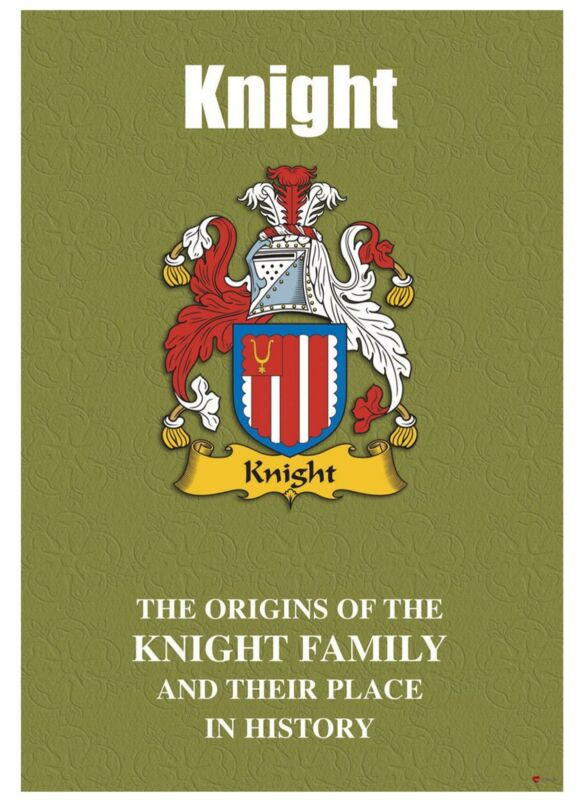 Knight+English+Surname+History+Booklet+with+Historical+Facts+of+this+Famous+Name