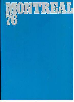 MONTREAL 76 OLIMPIADI SPORT 1976
