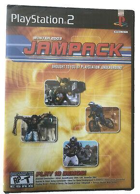 Jampack Winter 2003 Demos Sony PlayStation 2 PS2 Original Brand New Sealed