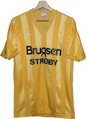 1970's #11 BRONDBY IF Style  Football SHIRT Jersey size XL Anero Tricot DENMARK image