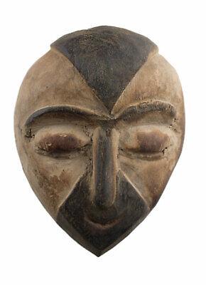 Masquette Igbo 14 CM Mask Diminutive African Nigeria Wood Art First 16921