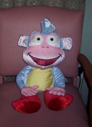 """Dora The Explorer Jumbo 26"""" Boots 2006 Viacom Nick Jr. Plush Pillow Stuffed Toy"""