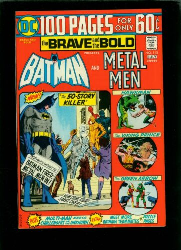 Brave and the Bold 113 NM- 9.2