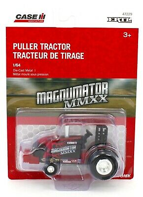 2020 ERTL 1:64 *PULLER* CASE IH Magnumator MMXX Pro Stock Pulling Tractor *NIP*