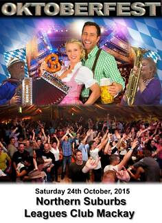 Oktoberfest Northern Leagues Club North Mackay QLD. North Mackay Mackay City Preview