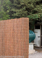 4m X 1.6m Brushwood Screening / Screen / Fencing / Fence - ruddings wood - ebay.co.uk