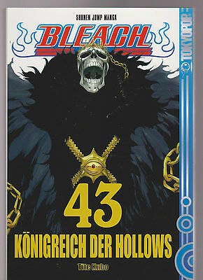 Bleach Manga Band 43 Königreich der Hollows  2. Auflage 2011 TOP ungelesen