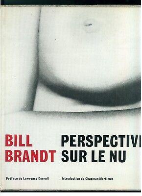 BRANDT BILL PERSPECTIVES SUR LE NU ED. PRSIMA 1961 ARTE FOTOGRAFIA NUDO EROTICA