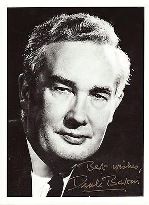 Derek H. R. Barton Originalautogramm auf Großfoto - Nobelprice