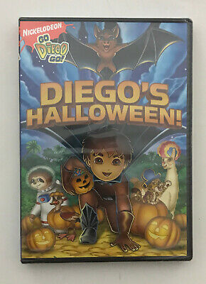 Brand New in Shrink Wrap Nickelodian Go Diego Go Diago's Halloween DVD