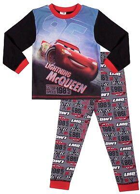 Disney Cars Boys Pyjamas  2 to 7 Years Lightning Mcqueen W18a ()