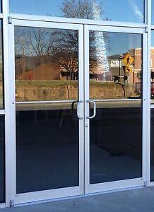 Storefront door ebay for Commercial aluminum storefront door