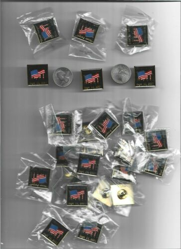 50 NEVER FORGET SEPT. 11, 2001 LAPEL PINS        20th ANNIVERSARY   #2