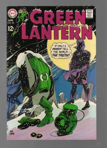 GREEN LANTERN 68    AWESOME COVER!            LOW PRICE!
