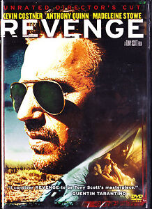 Revenge (DVD, Unrated Directors Cut,2007) Kevin Costner, Anthony Quinn,Brand New