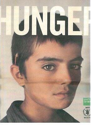 UNITED COLORS OF BENETTON HUNGER SUPPLEMENTO COLORS 54 FEBBRAIO MARZO 2003 MODA
