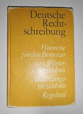 Deutsche Rechtschreibung - DDR