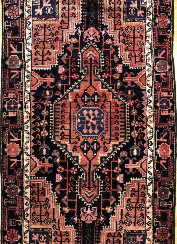 Terrific Tribal - 1940s Antique Oriental Rug - Nomadic Carpet - 3.4 X 5.9 Ft.