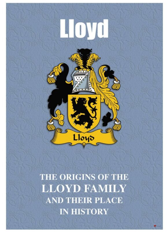Lloyd+English+Surname+History+Booklet+with+Historical+Facts+of+this+Famous+Name