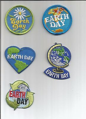 Girl / Boy Scout/Guides Patch/Crest/Badge   EARTH DAY     (your