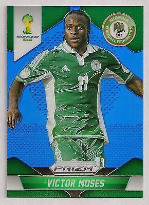 2014  151 Victor Moses   Nigeria   Panini Prizm Wc14 Blue  188 199