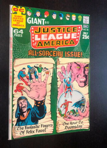 JUSTICE LEAGUE OF AMERICA #85 (DC 1970) -- F+