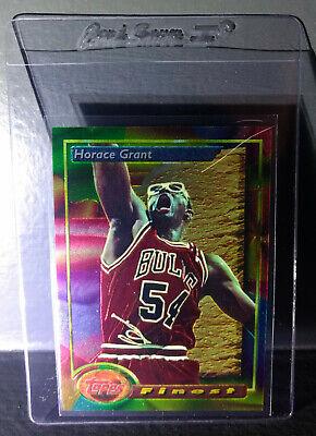 1993-94 Topps Finest Horace Grant #89 Basketball Card