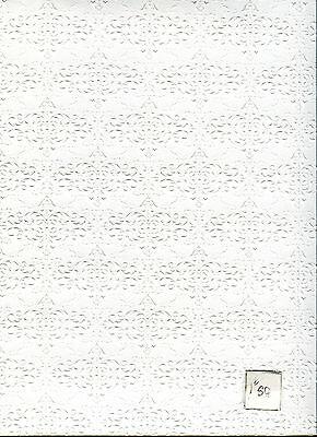 Textured Embossed Ceiling Plaster Wallpaper Jm30 Jackson's Miniatures 1pc