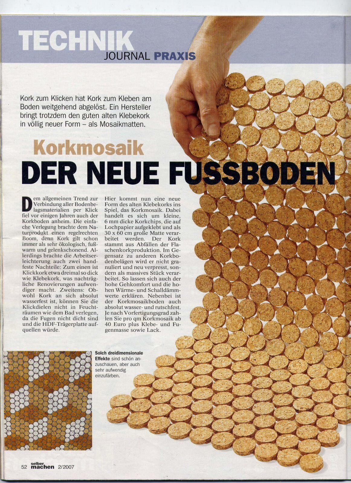 bodenbelag begehbare dusche 6mm massiv kork fliesen boden wand bad mosaik 30x30 eur 1 00. Black Bedroom Furniture Sets. Home Design Ideas