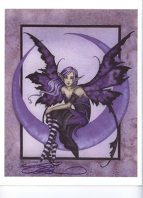 Amy Brown - Lavendar Moon - OUT OF PRINT - SIGNED