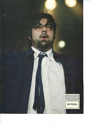 The Deftones, Chino Moreno, Full Page Pinup