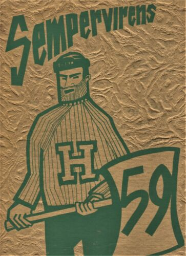 "1959 ""Sempervirens"" - Humboldt State College Yearbook - Arcata, California"