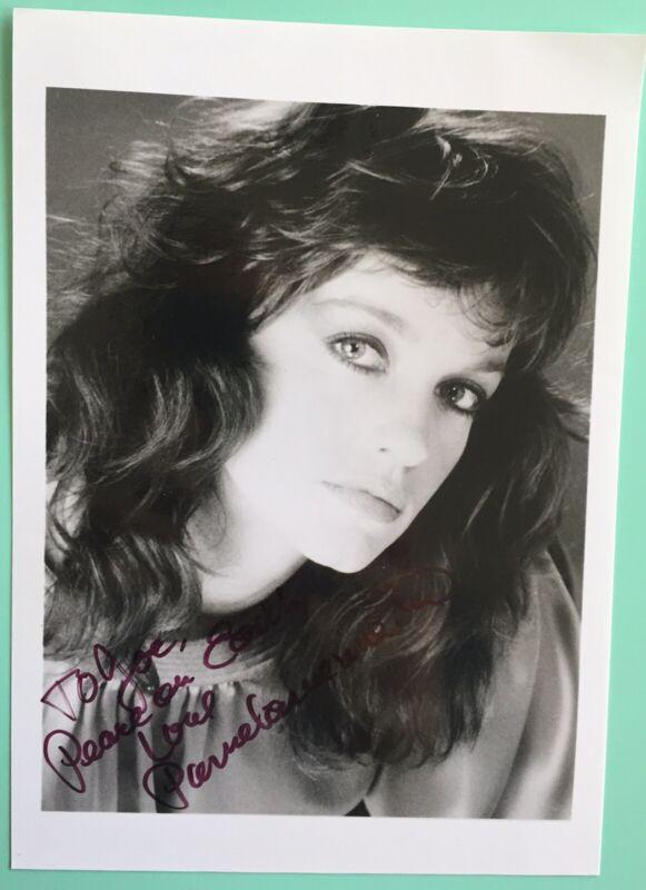 "Pamela Sue Martin Photo Signed / Inscribed 5""X7"" BXW TV The Nancy Drew Mysteries"