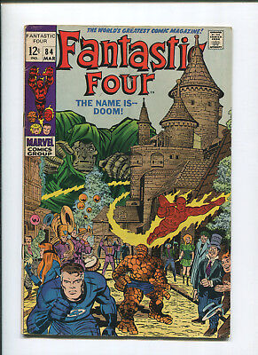 Fantastic Four #84 (6.5) The Name is Doom - 1968
