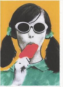 POP ART POSTER. Kitsch, retro, 60's, mod.